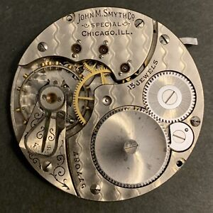 Rockford 16sz. 15j, gr-584 pocket watch Mvmt/Dial Parts/Repairs