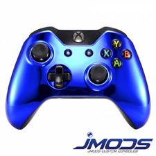 Xbox One 1 Custom Wireless Controller (Chrome Blue Standard) New 3.5mm jack