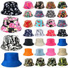 Adults Bucket Hat Summer Fishing Fisher Beach Festival Sun Cap Boonie Women Men