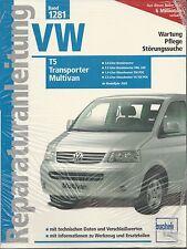 Reparaturanleitung VW T5 / T 5 Multivan Transporter Caravelle California Bus neu