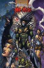 Monster era alemán #4 Variant lim.222 Darkness/mr. Hyde Witchblade Tomb Raider