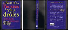 Le best-of des pensées les plus droles - David Gollery - 2001 - 188 pages