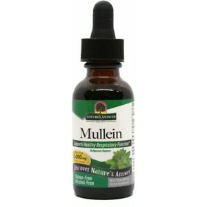 Nature's Answer Mullein Leaf - 2000 mg Herbal Liquid Extract 30ml