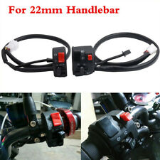 Motorcycle Handle Bar Switch Control Horn/Fog/Headlight/Turn Light/On-Off Button