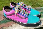 Vans Off The Wall Customs Old Skool Sneakers Shoes Sz 13