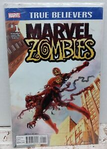 MARVEL ZOMBIES #1 signed TRUE BELIEVERS variant ARTHUR SUYDAM MARVEL COMIC 2015