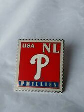 Lapel Pin Tie Tack Philadelphia Phillies National League USA 2006 Peter David