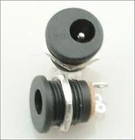 20Pcs With Screw Nut Dc Power Jack Socket DC-022 2.1X5.5MM New Ic ix