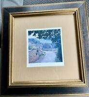 Tom Caldwell Pencil Signed Framed & Matted ART PRINT - Lovely Countryside