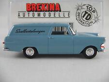 """Brekina 20153 Opel Rekord p2 recuadro (1960) """"snelbestelwagen"""" 1:87/h0 nuevo/en el embalaje original"""
