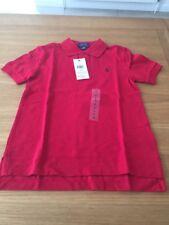 Genuine Dark Red Ralph Lauren polo shirt size 6 Years BNWT