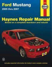 Haynes Ford Mustang 2005-2007 Repair Manual WORKSHOP SERVICE 244 V6 281 V8