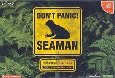USED SEAMAN SEGA DREAMCAST JAPAN JAPANESE IMPORT