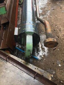 Industrial Waste Baler Ram From BOLLEGRAAF HBC80 WASTE BALER