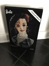 Barbie Throw Chenille Tapestry Throw Nrfb Promenade In The Park Rare 2000