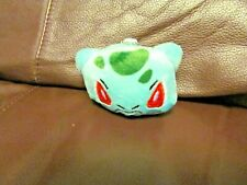 Pokemon Bulbasaur Face Plush Keychain  (NEW)