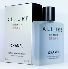 CHANEL ALLURE HOMME SPORT 50ml After Shave Lotion & Original Verpackt