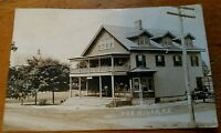 1911 RPPC , GENERAL STORE , FAR HILLS, N.J.