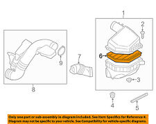 VOLVO OEM 07-15 S80 Engine-Air Filter Element 30745344