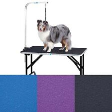 Master Equipment ME Groom Table w/Arm 48x24x30In TP154-48 Pet Grooming tables