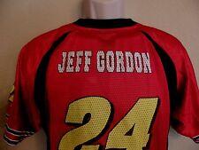 NASCAR Jeff Gordon 24 Jersey Dupont Racing Red Mesh Youth XL Extra Large 18 20