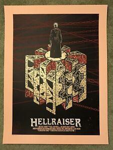 Hellraiser Clive Barker Pinhead Horror Movie Art Print Poster Mondo QfsChris