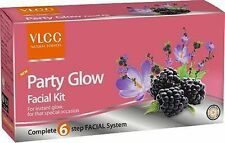 Vlcc natural party glow facial kit  for instant glow for special occasion 6 step
