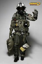 1/6 VERY HOT Toys Modern US Navy Combat Pilot Black ACES Uniform / Acc SET
