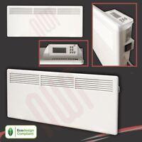 2000W Nova Live S Electric White Panel Convector Heater Wall Mounted 2kW Watt