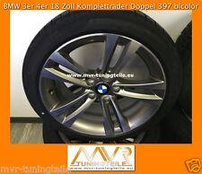 BMW 3er F3 4er 18 Zoll Doppelspeiche 397 Sommerkompletträder Alufelgen Radsatz