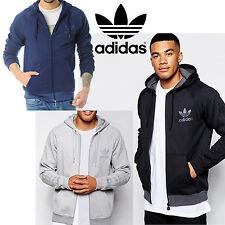 Adidas Originals SPO Trébol Con capucha Sudadera Para Hombre Cremallera Completa Track de Superdry con capucha