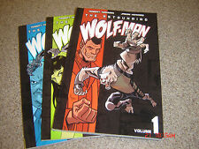 THE ASTOUNDING WOLF-MAN  BOOK 1-3 BY ROBERT KIRKMAN  ( WALKING DEAD )