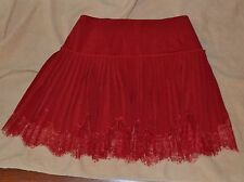 Woman's chagoury couture skirt Red Size 2 with zipper