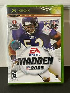Madden NFL 2005 (Microsoft Xbox, 2004) Brand New Sealed