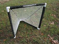 Portable Kids Weighted Mini Goal for LaCrosse Soccer Hockey Field Street Net New