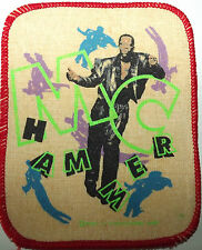 MC HAMMER Original Vintage Printed Sew On Patch