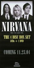 Nirvana 2004 With The Lights Out Original Promo Poster
