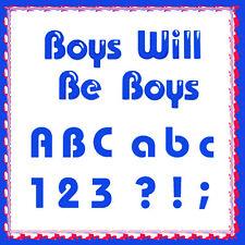 Sizzlits Boys Will Be Boys 12-die Alphabet #655413 FUN! Retail $69.99 Retro FUN!