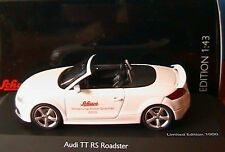 AUDI TT RS ROADSTER SCHUCO 1/43 WHITE CABRIOLET BLANC