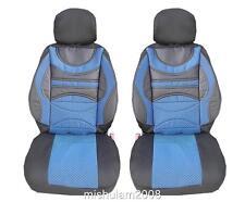 2x Sport Sitzbezug Sitzbezüge Schonbezüge Schonbezug Blau für VW NEU