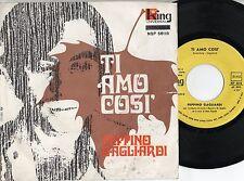 PEPPINO GAGLIARDI disco 45 giri MADE in ITALY Ti amo cosi + Ti voglio 1970