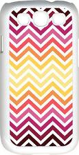 Chevron Multi Red Designed Samsung Galaxy S3 Case Cover