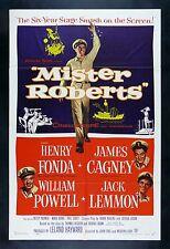 MISTER ROBERTS * CineMasterpieces MR ROBERTS NAVY ORIGINAL MOVIE POSTER 1955