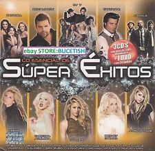 Super Exitos 3CD+1DVD Pandora,Ricky martin,OV7,Chayane,Camila,shakira,Kesha,New