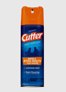 Cutter Unscented INSECT REPELLENT SPRAY Mosquitoes Flying Biting Bugs 6 oz 51020