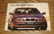 Original 1997 BMW 5-Series Sales Brochure 97 528i 540i