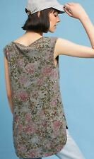 NiB in bag Anthropologie long and Lean floral tank top size small
