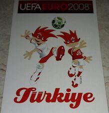 FIGURINA CALCIATORI PANINI EURO 2008 TURCHIA MASCOTTE ALBUM