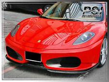 2004-2009 HM Type Carbon Fiber Front Bumper Lip Spoiler For Ferrari F430 /Spider