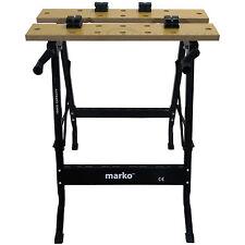 75cm High portatile pieghevole Workbench BANCO di LEGNO lavori di bloccaggio PIANO DI LAVORO FAI DA TE TAGLIO